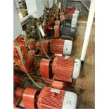 (8) 15 HP motors w/ pumps, w/ switches (EACH) / Rigging Fee: $250