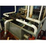 S.S. Water tank, 180in L x 76in W x 36in deep / Rigging Fee: $60