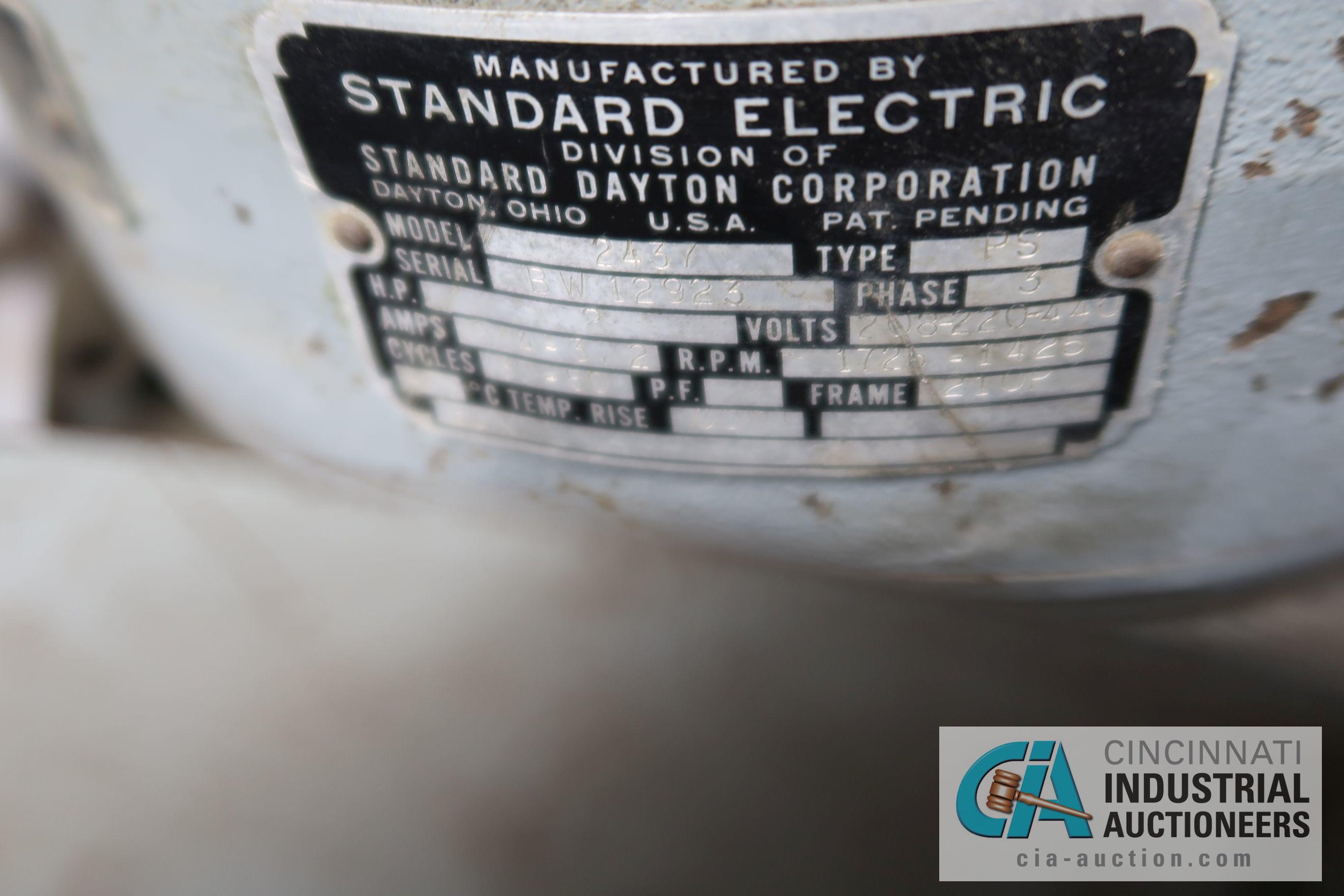 "2 HP CINCINNATI VERTICAL MILLING MACHINE; S/N 6J4V5L-155 WITH DRO, 10"" X 42"" POWER FEED TABLE - Image 6 of 8"