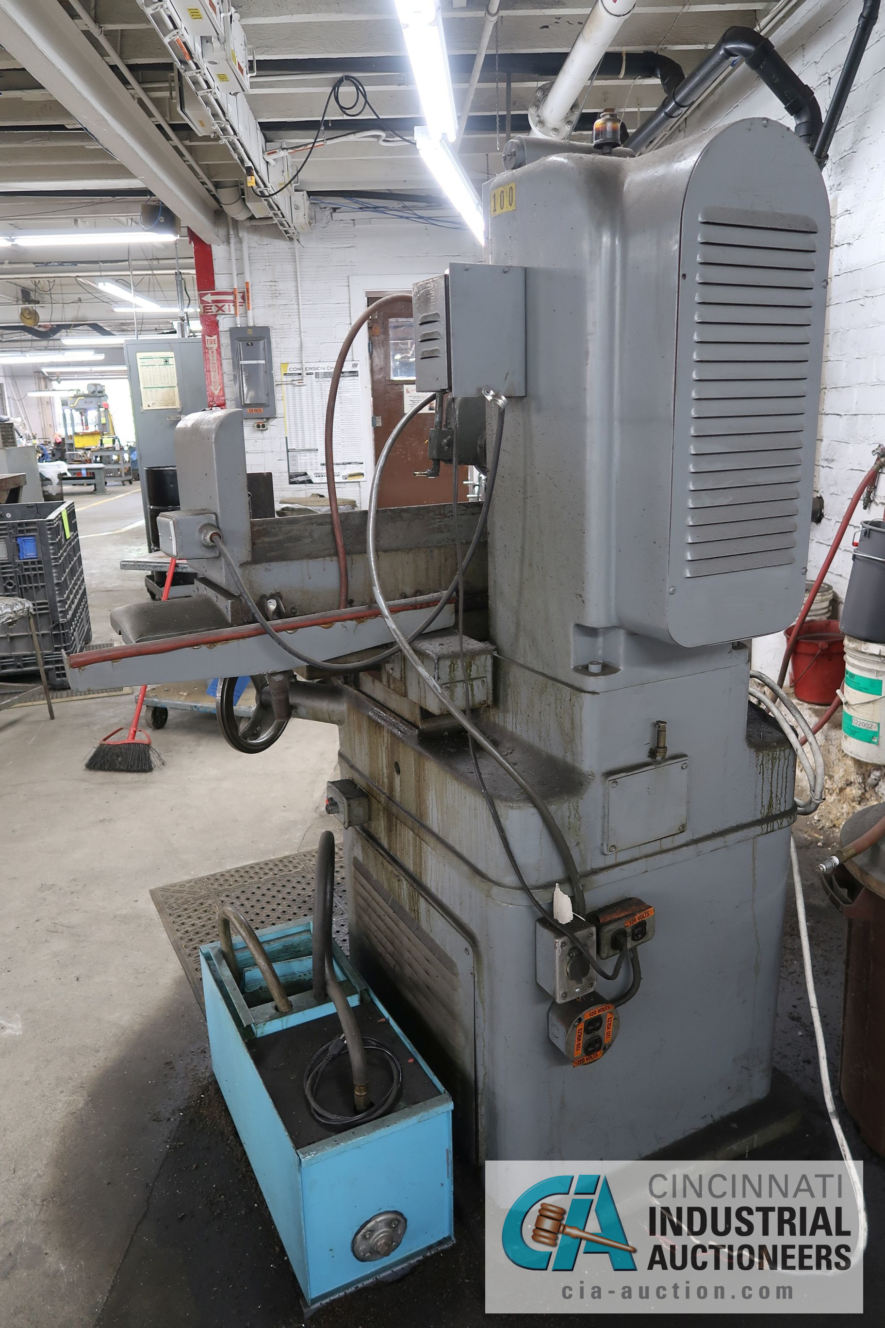 "6"" X 18"" COVEL SURFACE GRINDER; S/N 10H-544, MAGNA-LOCK CORP ELECTROMAGNETIC CHUCK - Image 6 of 6"