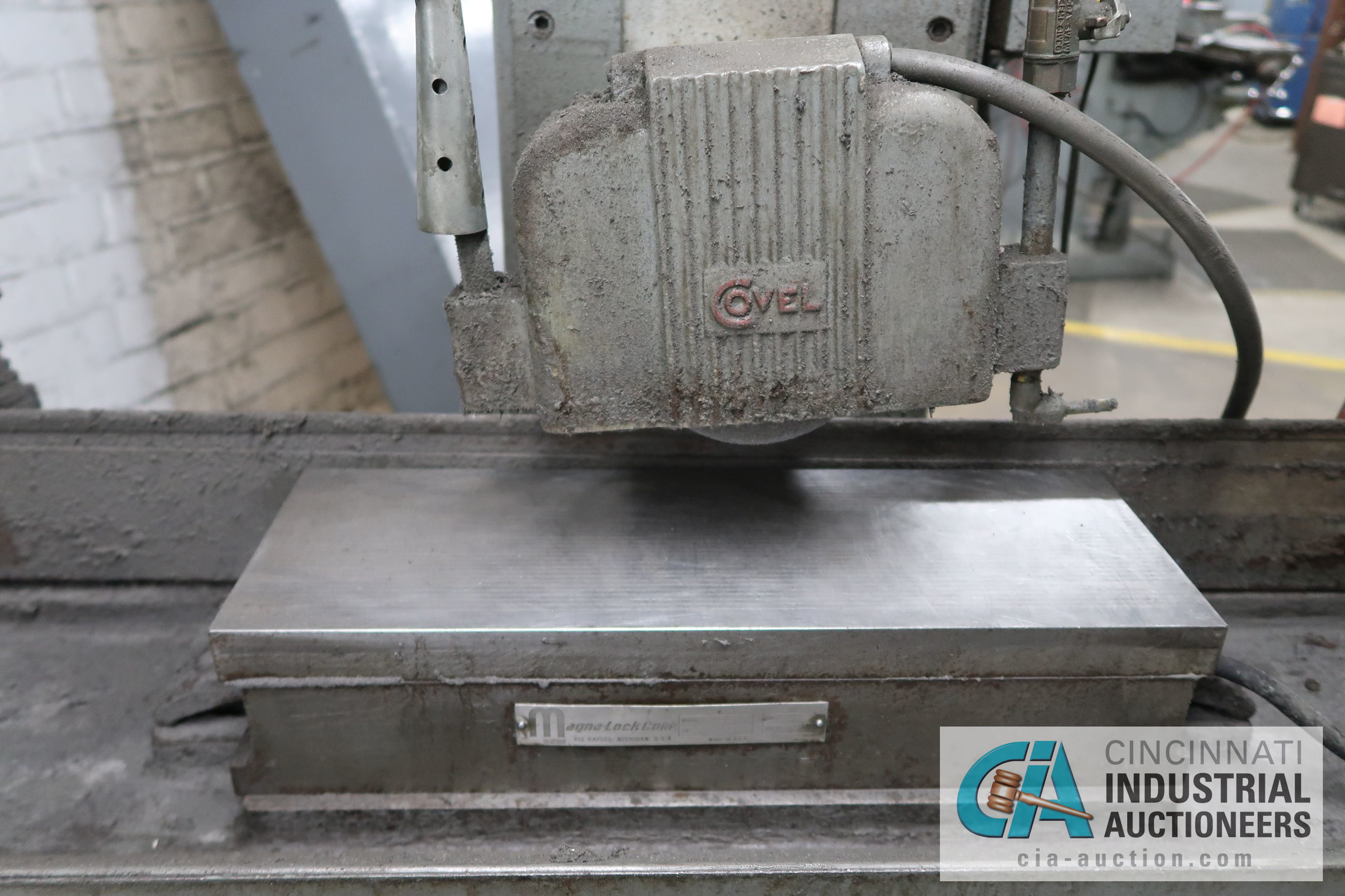"6"" X 18"" COVEL SURFACE GRINDER; S/N 10H-544, MAGNA-LOCK CORP ELECTROMAGNETIC CHUCK - Image 3 of 6"
