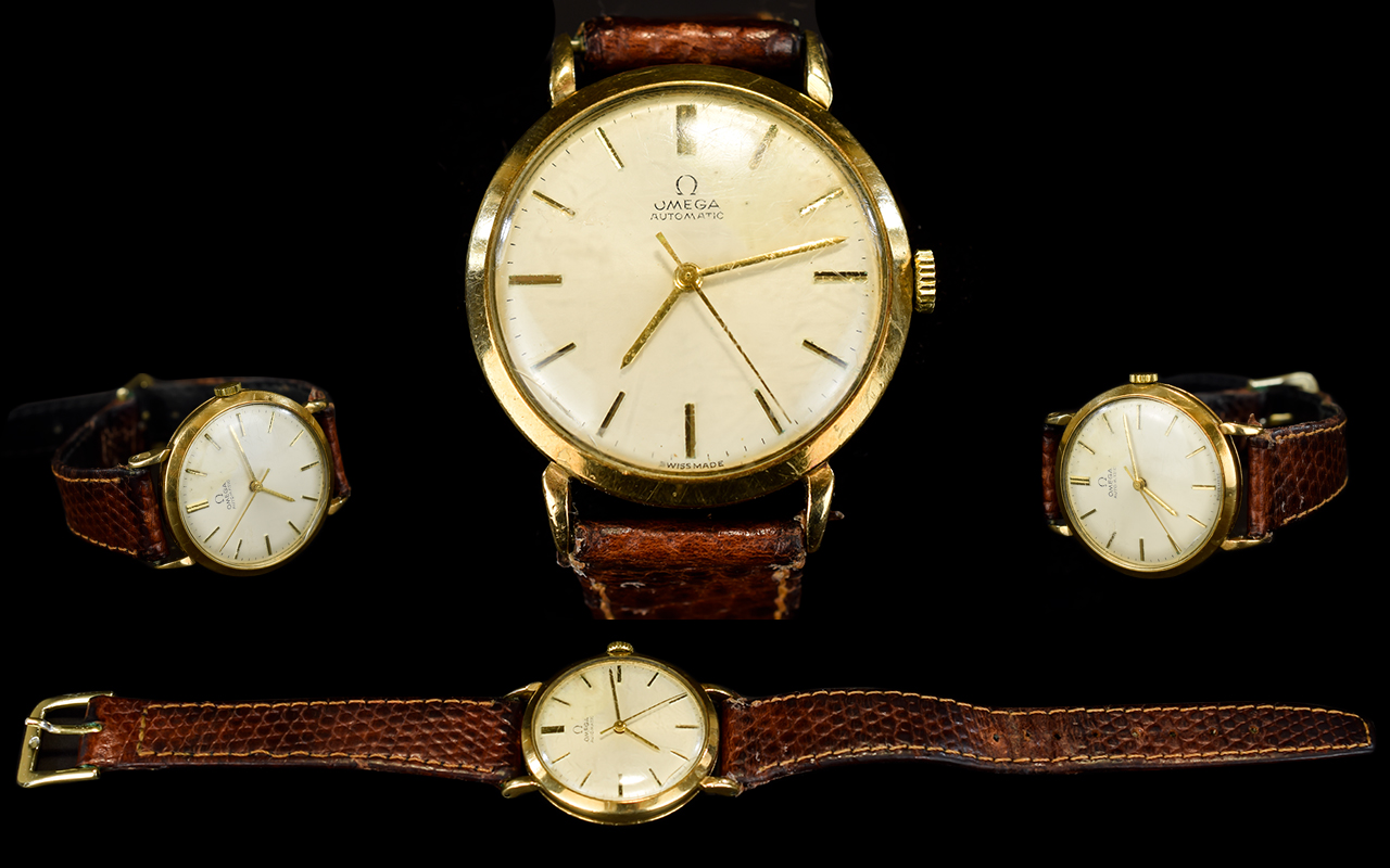Lot 30 - Omega - Gents 9ct Gold Cased Automatic W