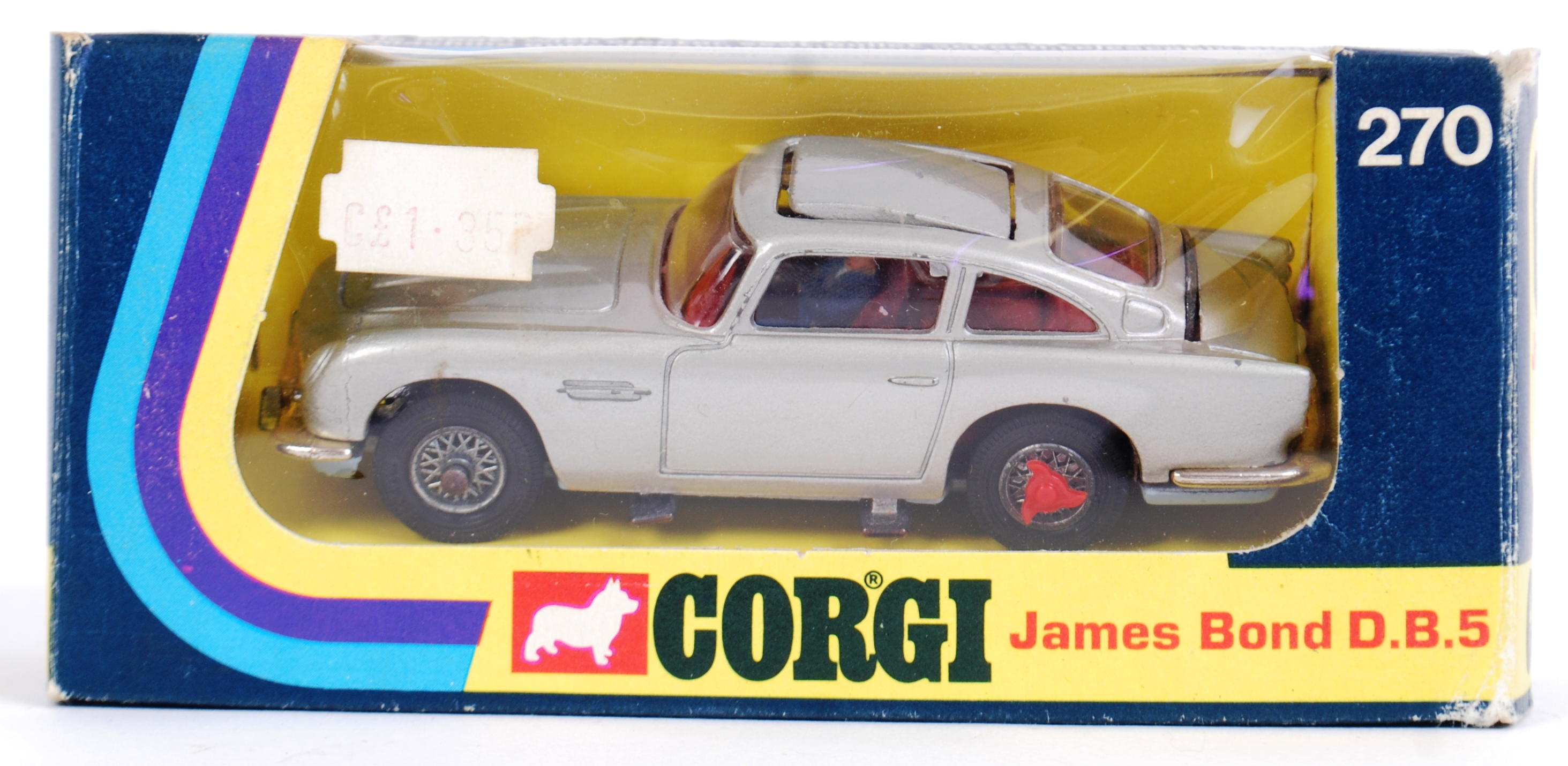 corgi james bond: an original corgi 270 james bond aston martin