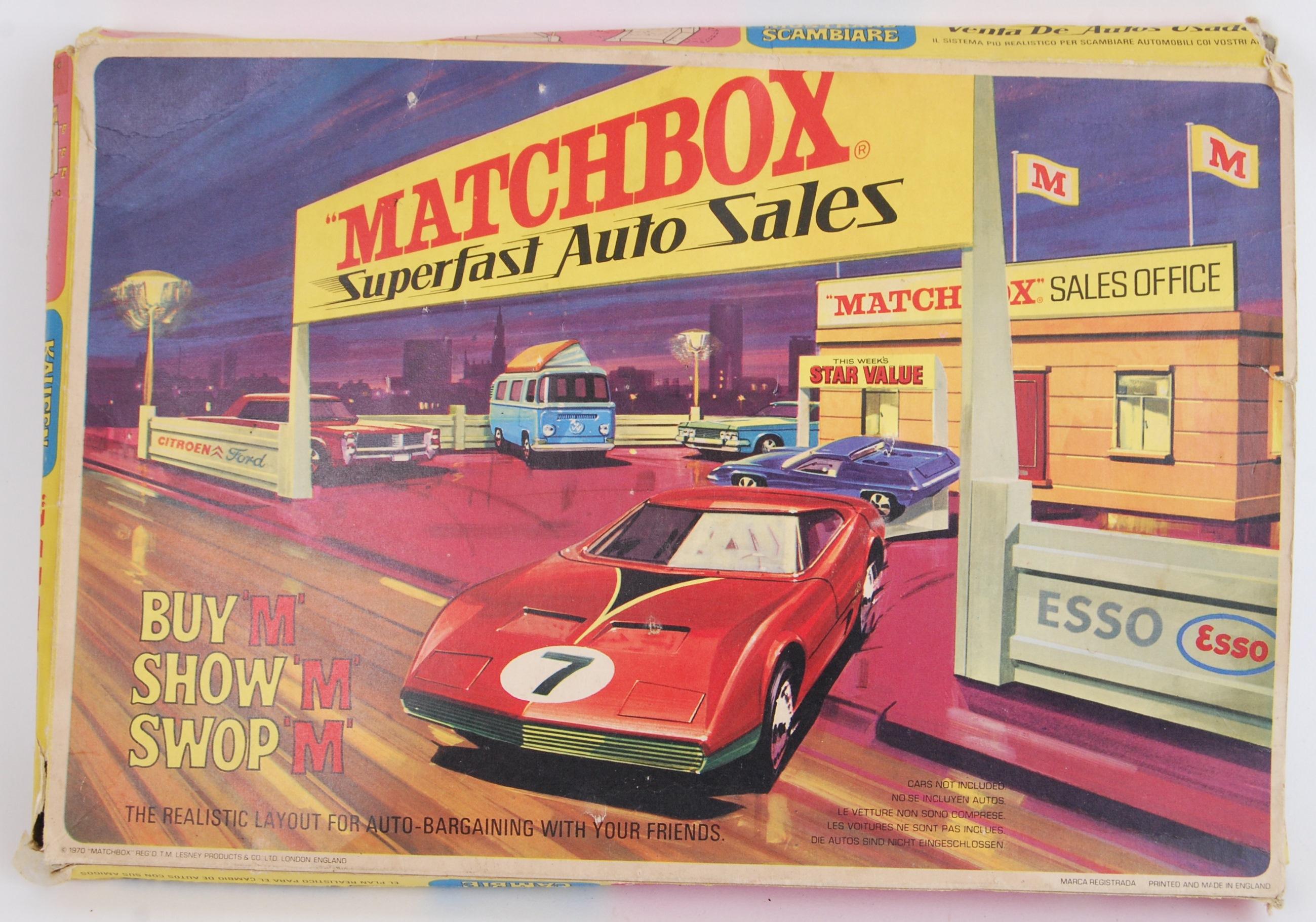 MATCHBOX AUTO SALES: An original vintage Matchbox Superfast Auto ...