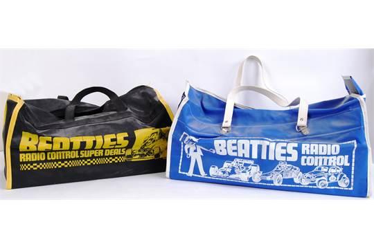 BEATTIES TAMIYA BAGS Two Original 1980s Vintage Beatties