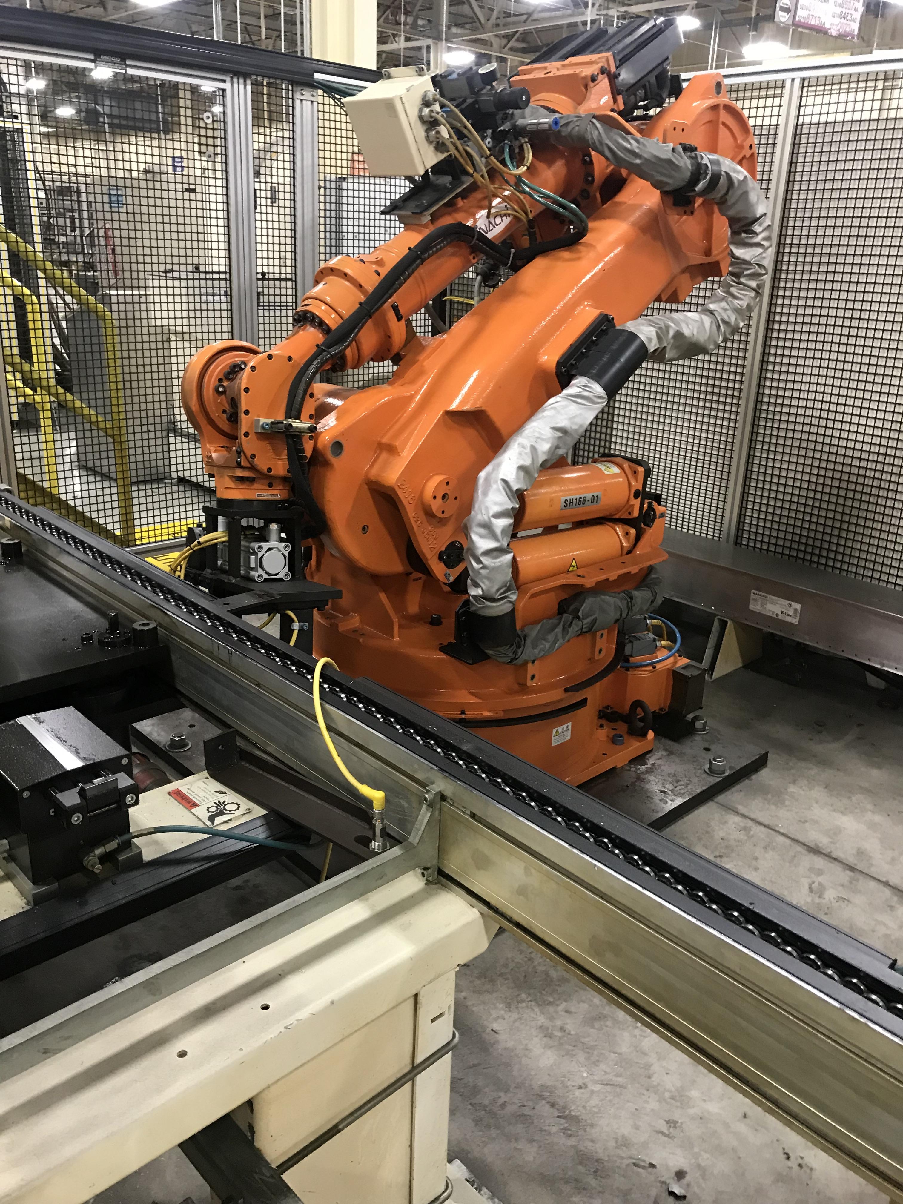 Lot 146 - 2002 Nachi SH-166-01 Robot