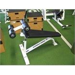 POWER STRENGTH SIT UP FITNESS BENCH