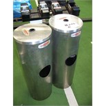 GYM WIPE RECEPTACLES LOT OF 2