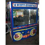 "60"" ICE WINNER EVERYTIME DUAL CLAW CRANE MACHINE"