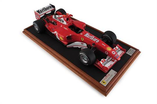An Quot Amalgam Quot Ferrari F2004 Model Car 1 8 Scale Formula
