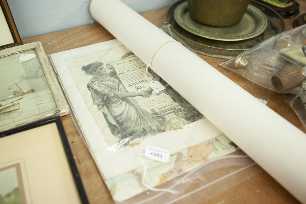 Lot 393 - A NUMBER OF VARIOUS REPRODUCTION AND PHOTOGRAPHIC PRINTS ETC....
