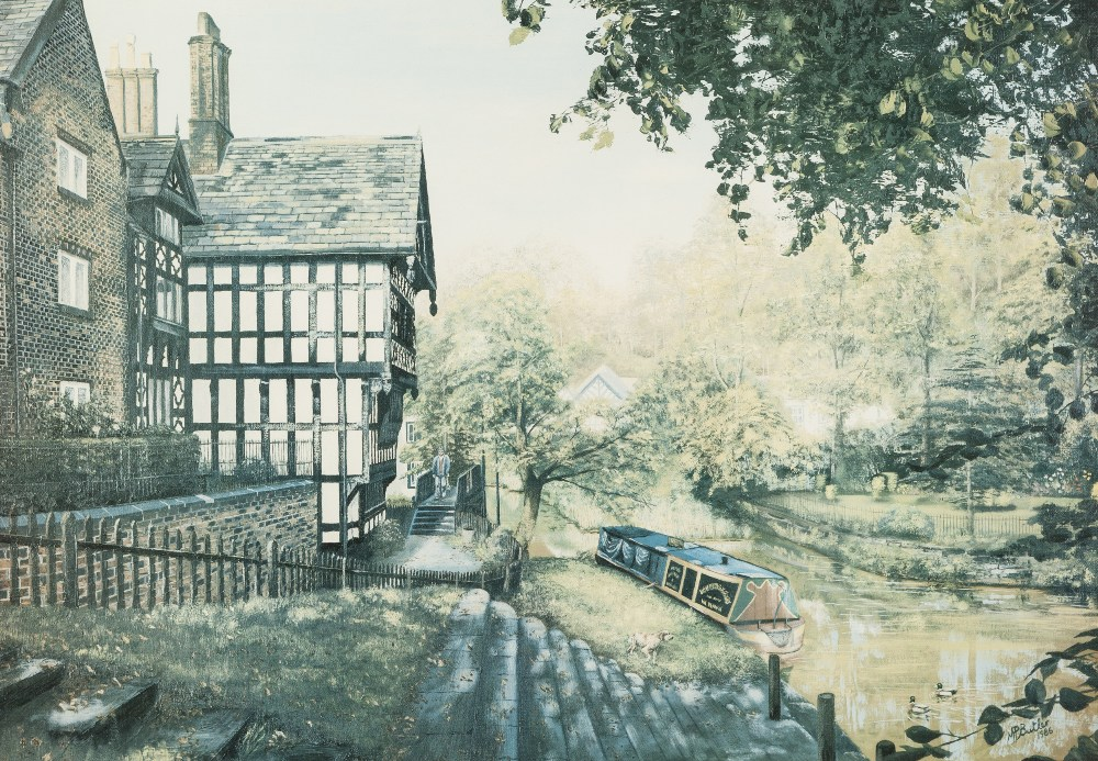 Lot 389 - MALCOLM BUTLER PAIR OF ARTIST SIGNED LIMITED EDITION COLOUR PRINTS, 'Worsley Woodlands' (41/500) '