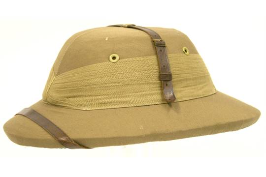 British 2nd Infantry Division Bombay Bowler with eight fold