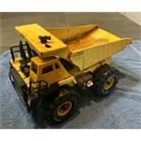 Vintage Tonka BUDDY L Big Bruiser Dump Truck 4 Sounds Light 1991 Steel