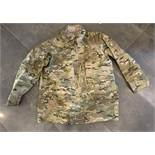 MILITARY ALL WEATHER WATERPROOF JACKET SIZE XL LONG CAMO