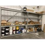 2 Sections of 8' pallet racking