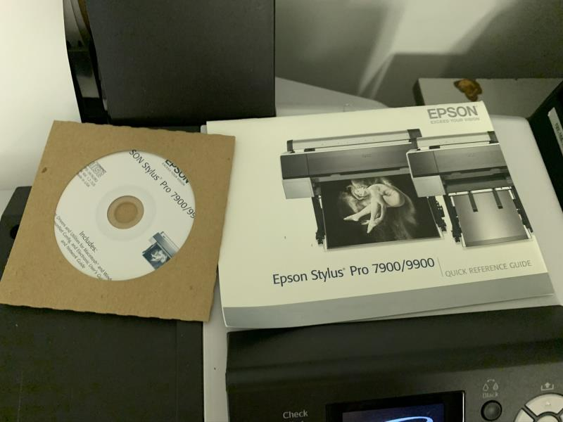 Espson Pro9800 Large Format Printer, Mothballed - Image 4 of 5