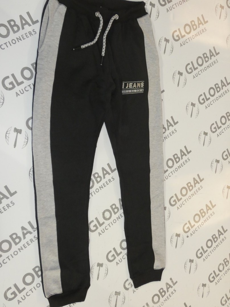 Lot 172 - Assorted Brand New Pairs Of Ijeans Original Denim Black Lounging Pants In Assorted Sizes RRP £25 A