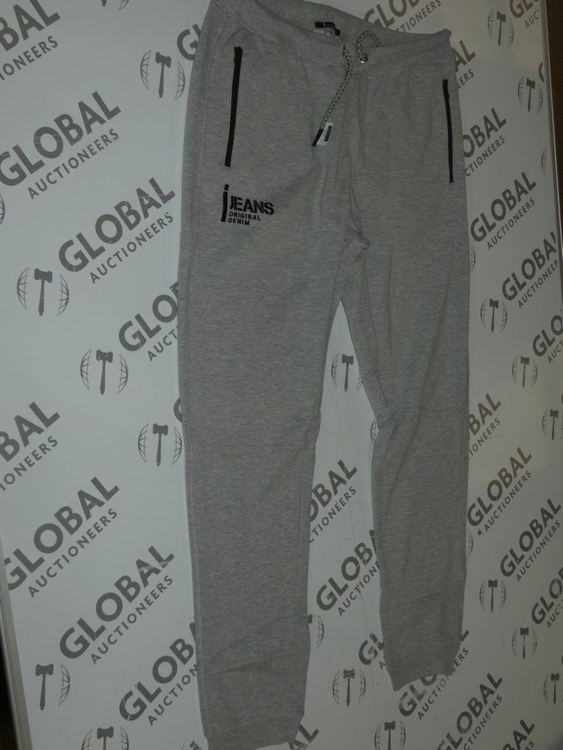 Lot 173 - Assorted Brand New Pairs Of Ijeans Original Denim Grey Lounging Pants In Assorted Sizes RRP £25 A