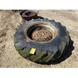 18.4-30 tire and wheel