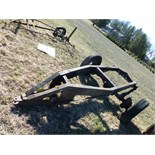 heavy duty trailer frame, w/ heavy duty hitch