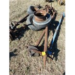 trailer house axles w/ tires