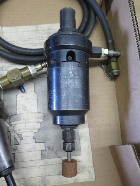 Lot 99 - BT-40 Taper Pneumatic High Speed Grinding Head and Vulcanaire Pneumatic High Speed Grinding Head