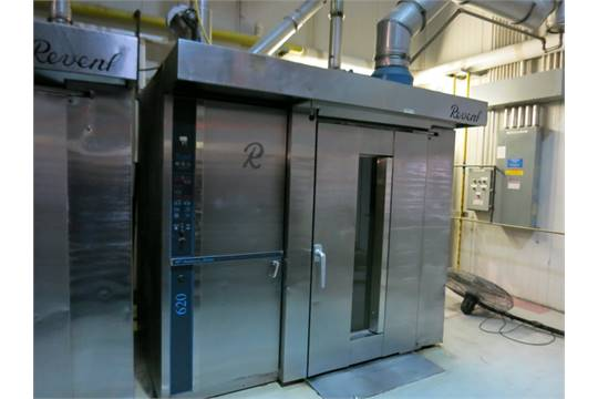 revent rotary rack oven model 626 g dg natural gas fired oven 14 rh bidspotter com revent 626 installation manual