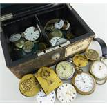 ASSORTED 19TH/20TH CENTURY POCKET WATCH MOVEMENTS