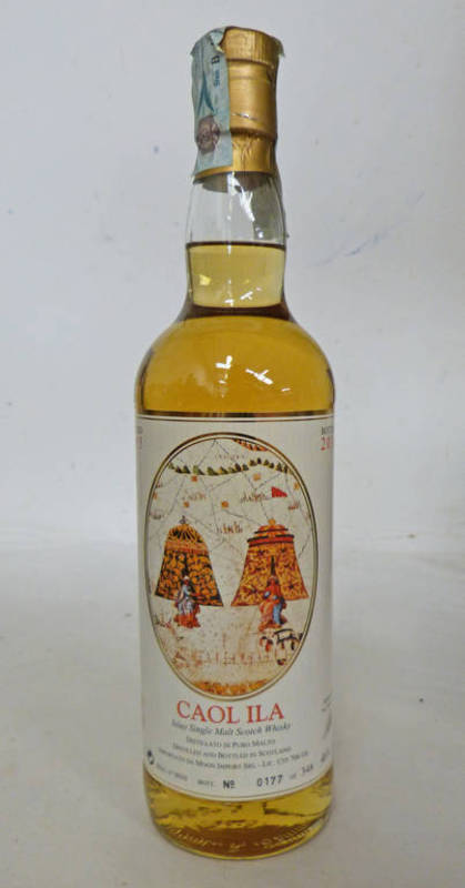 Lot 4034 - 1 BOTTLE CAOL ILA 16 YEAR OLD SINGLE MALT WHISKY, DISTILLED 1995, THE EXPLORERS - 70CL,