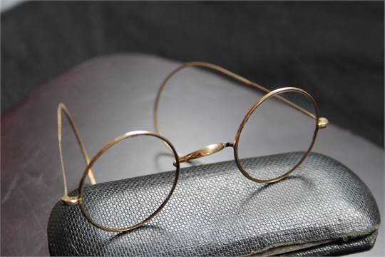 Lot 1045 - JOHN LENNON GLASSES - a pair of John Len