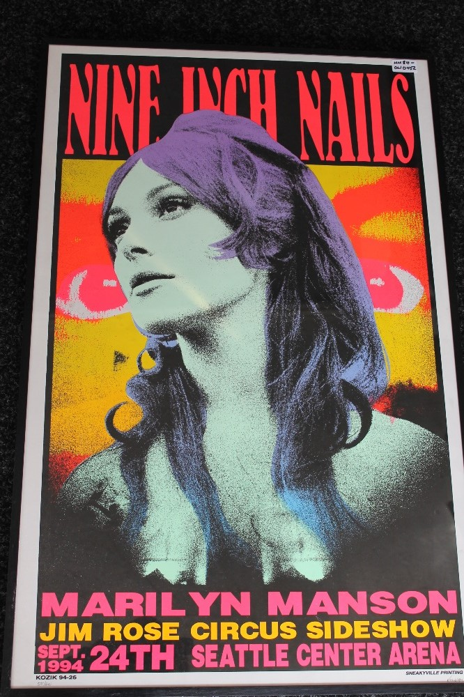 FRANK KOZIK - Signed and limited edition 1st print poster no. 515 ...