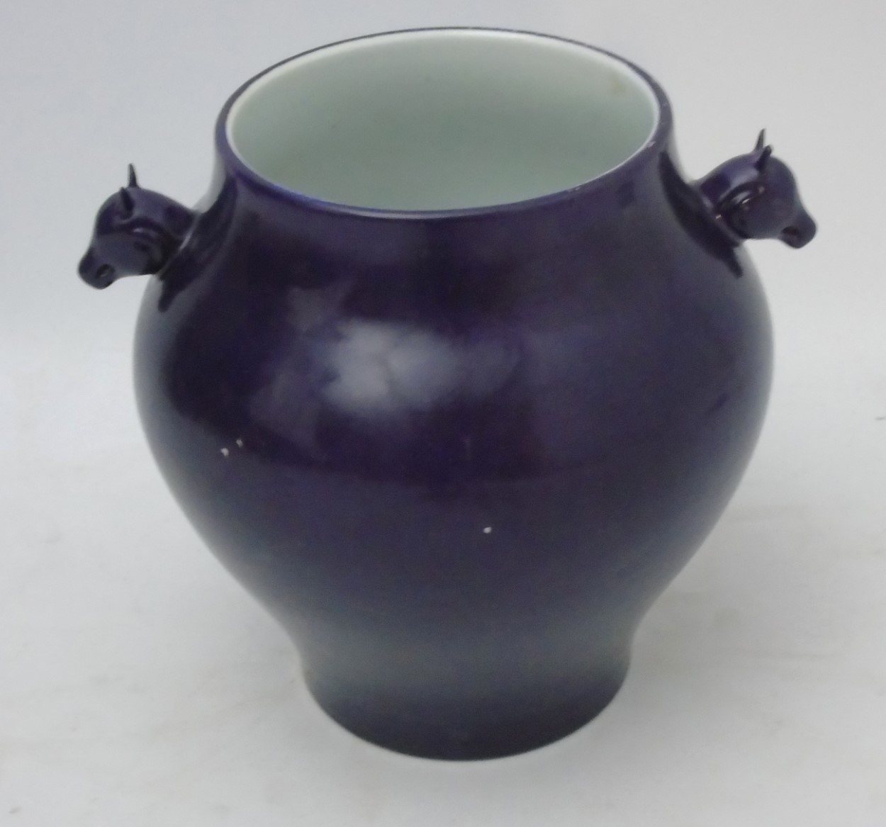 Lot 8 - A Chinese monochrome vase,