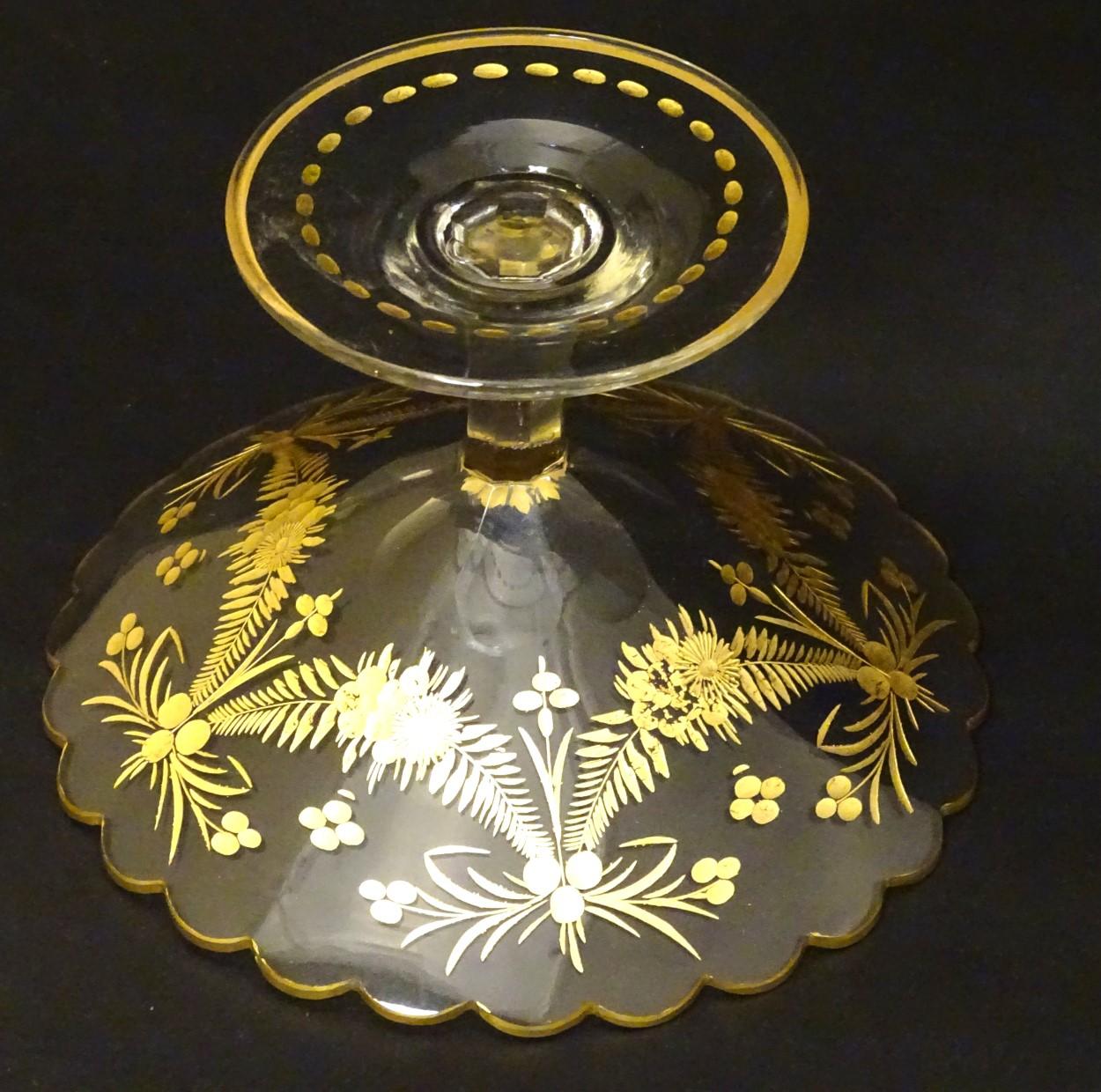 Lot 113 - Saint-Louis glass ,