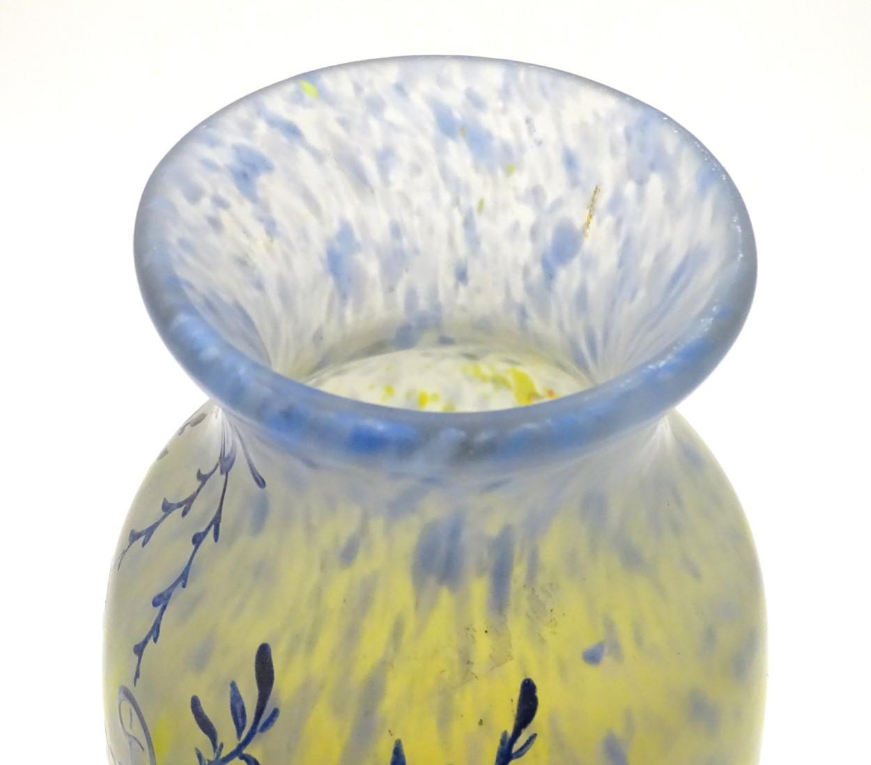 Lot 98 - Legras Printania vase: A François-Théodore Legras (1839-1916),