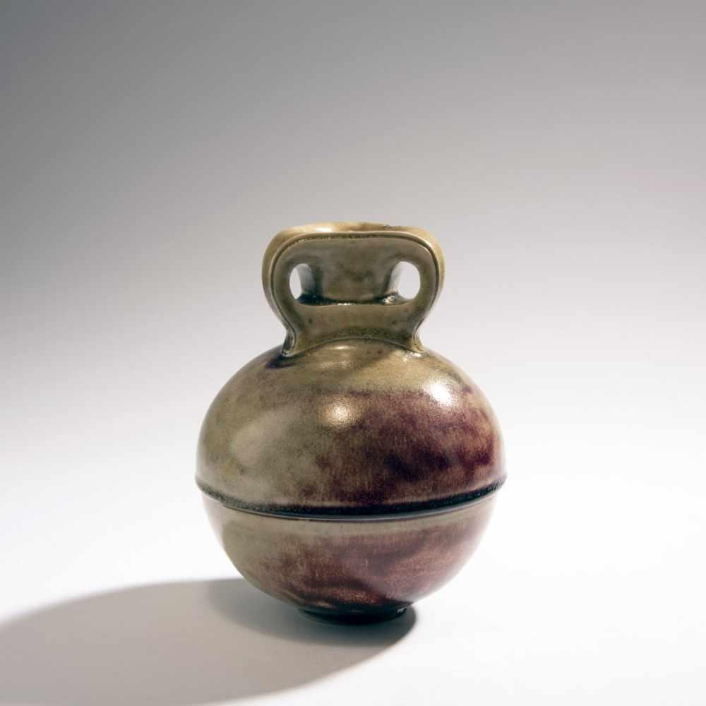 Henry van de Velde, Vase, 1902Vase, 1902Spherical vessel on round base, straight round neck, - Image 2 of 4
