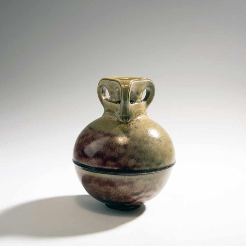 Henry van de Velde, Vase, 1902Vase, 1902Spherical vessel on round base, straight round neck,