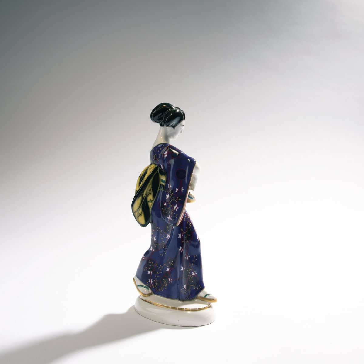Adolph Amberg, 'Japanese woman', 1909'Japanese woman', 1909H. 27 cm. Made by StPM Berlin, 1924. - Image 2 of 3