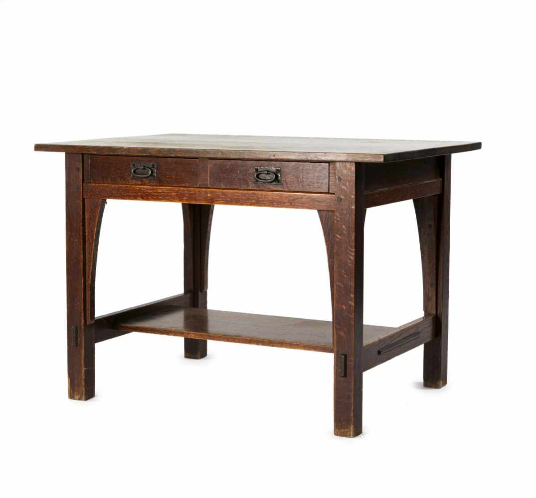 Gustav Stickley, Table, c. 1907Table, c. 1907H. 74 x 107 x 75 cm. Made by Craftsman Workshop,