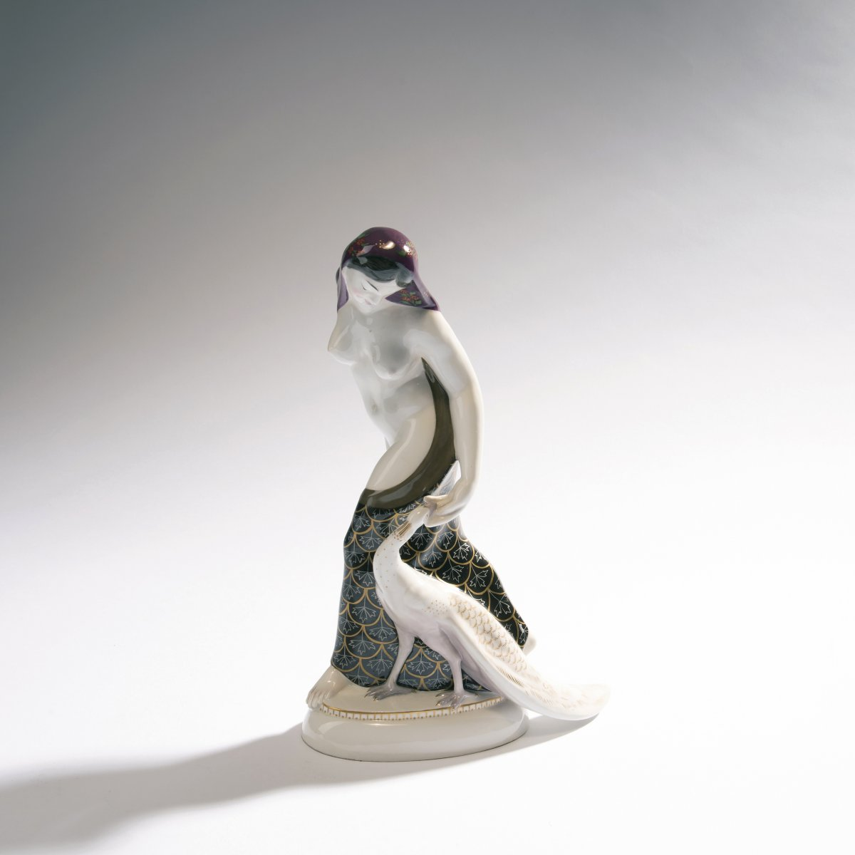 Adolph Amberg, 'Indian woman', 1910'Indian woman', 1910H. 26 cm. Made by KPM Berlin. Porcelain,