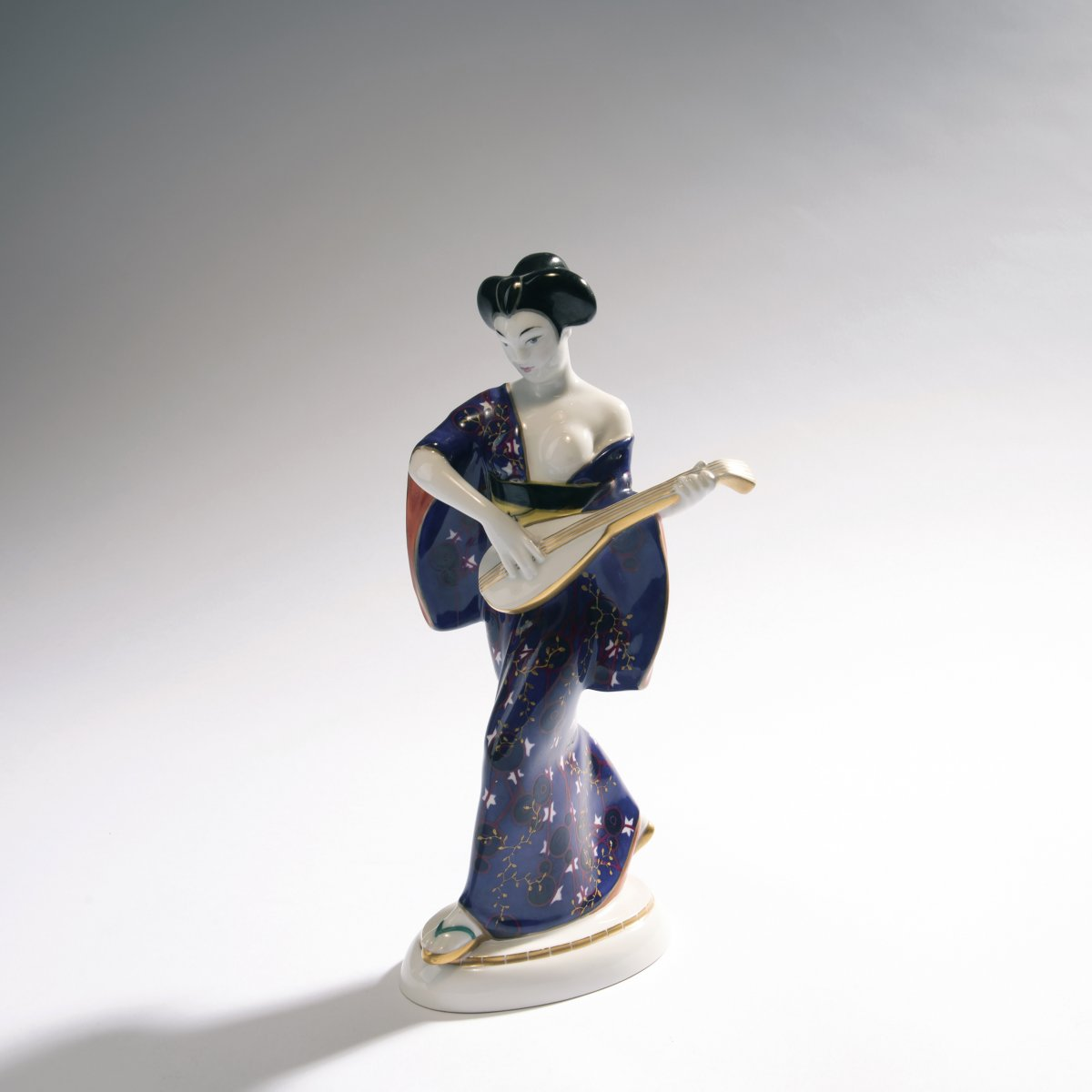 Adolph Amberg, 'Japanese woman', 1909'Japanese woman', 1909H. 27 cm. Made by StPM Berlin, 1924.