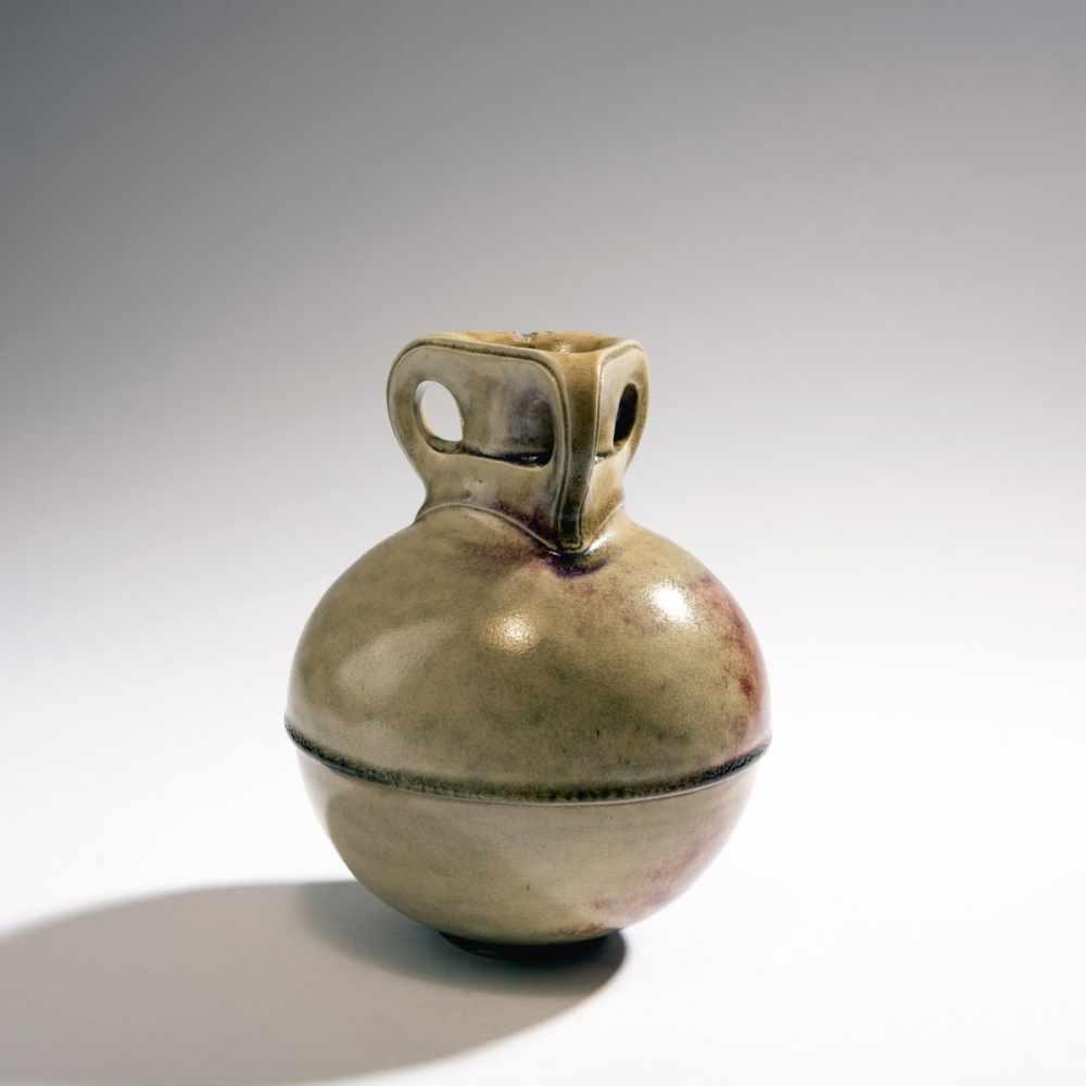 Henry van de Velde, Vase, 1902Vase, 1902Spherical vessel on round base, straight round neck, - Image 3 of 4