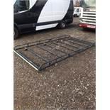 (RESERVE MET) Rhino Modular Roof Rack For LWB Vauxhall Vivaro/Renault Traffic