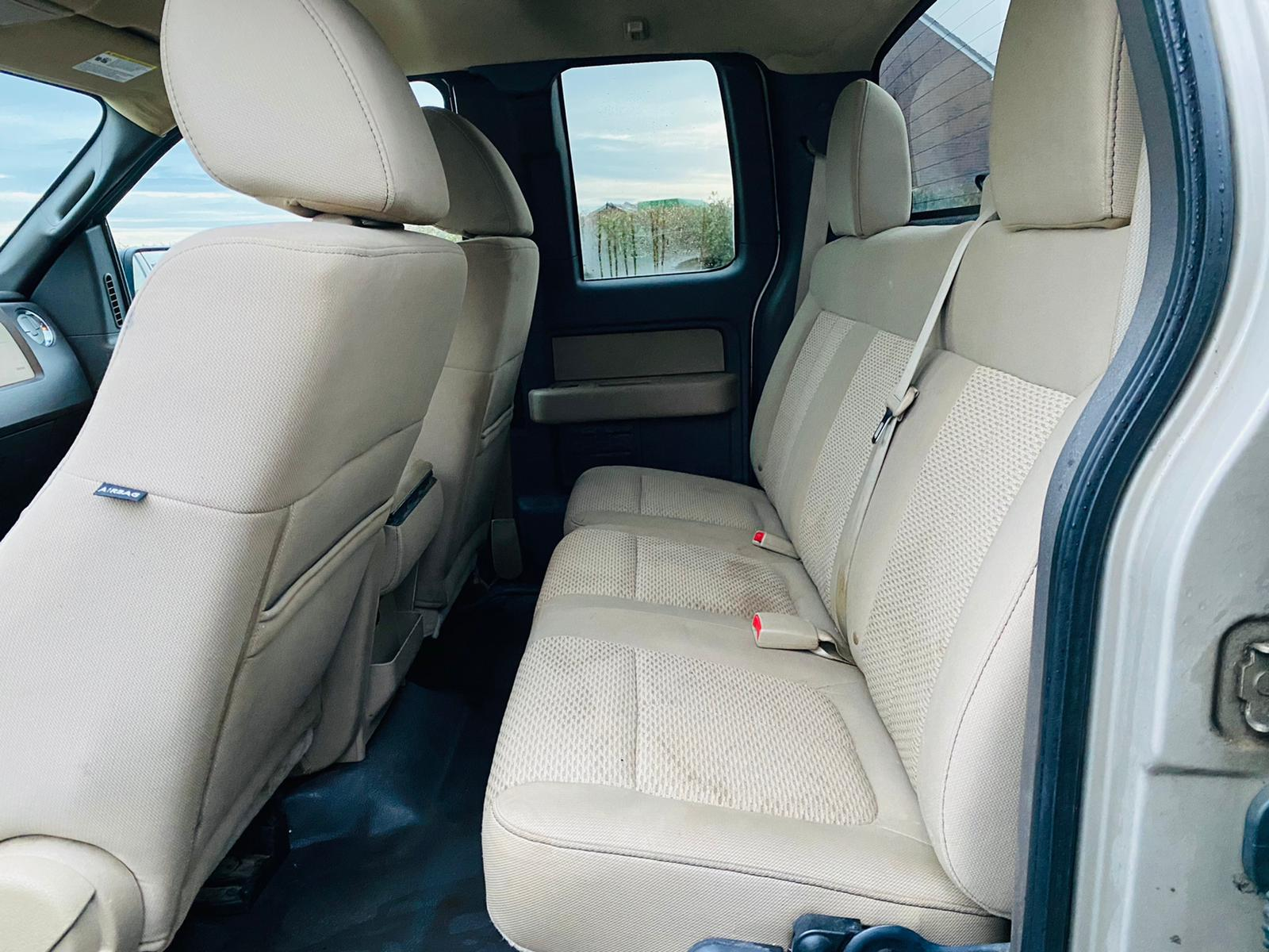 (RESERVE MET) Ford F-150 XLT 4.6L V8 Supercab - 2010 Year - 6 Seats - Fresh Imports - Image 25 of 39