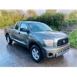 (Reserve Met)TOYOTA TUNDRA 4.7L V8 SR5 DOUBLE-CAB - 2008 YEAR - AIR CON - FRESH IMPORT -
