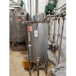 SFI 50 Gallon Agitated Batch Mixing Tank, W/ Transfer Pump, Valves & Fittings | Rig Fee: $250