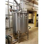 A&B Process Systems 250 Gallon Rotosolver High Shear Agitated Mix Tank | Rig Fee: $300