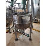 Groen 60 Gallon Jacketed, Agitated Mixing Kettle, M# SA-F-60 SP, W/ Sanitary Pump, | Rig Fee: $250