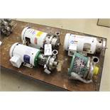 Lot of Sanitary Pumps & Bowls | Rig Fee: $75