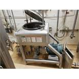 APV Crepaco Liquifier, S/N G-9756, 7.5 HP, W/ Sanitary Pump, Valves & Fittings | Rig Fee: $300